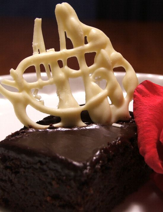 Rich Chocolate & Whisky Mud Cake